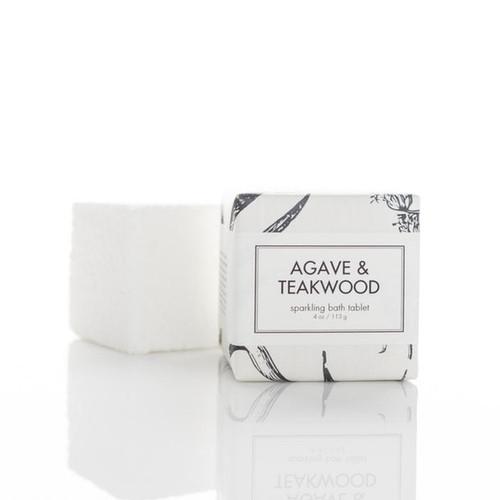 Sparkling Bath Tablet - Agave and Teakwood