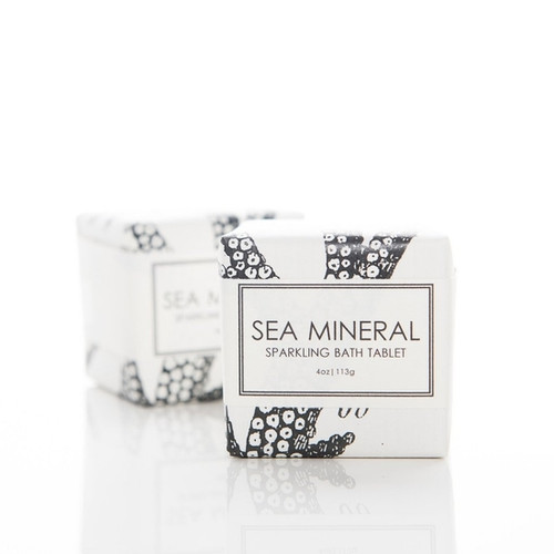 Sparkling Bath Tablet - Sea Mineral