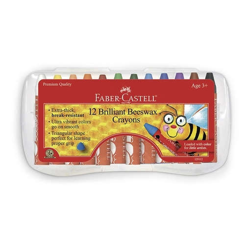 Beeswax Crayons - Set of 12