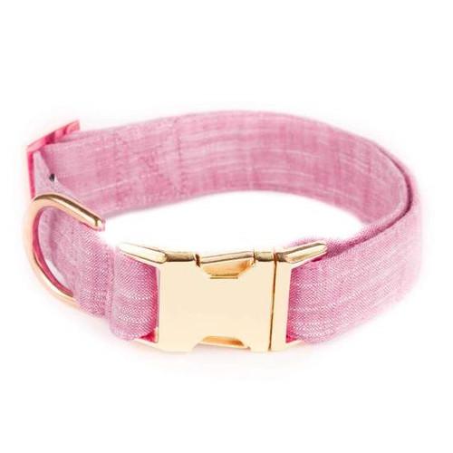 Stylish Dog Collar - Pink - XS (8-12