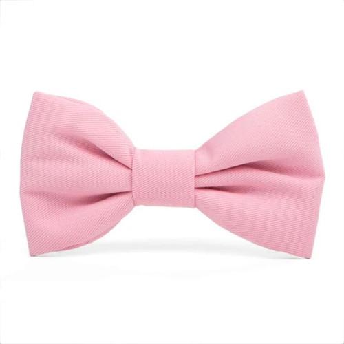 Dog Bow Tie - Petal Pink, Standard (4