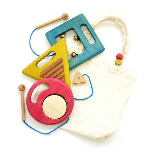 Musical Trio Toddler Instruments
