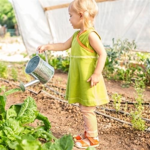 Organic Toddler Dress with Leggings - 18-24m