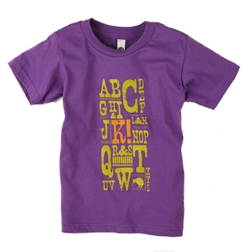 Organic Toddler Clothes - Graphic Tee - 4T