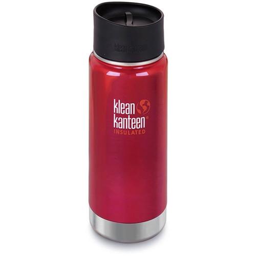 Klean Kanteen Insulated Travel Mug - 16oz - Red -  NO LID