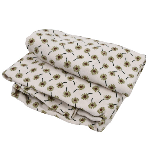 Made in the USA - Organic Crib Sheets - Meadow