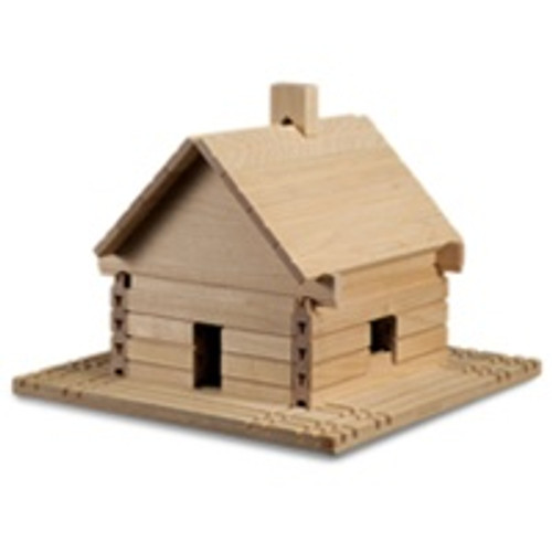Stack and Sticks -  Blocks Make your own Log Cabin