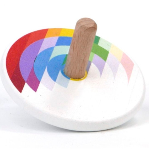 Wooden Spin Top Toy