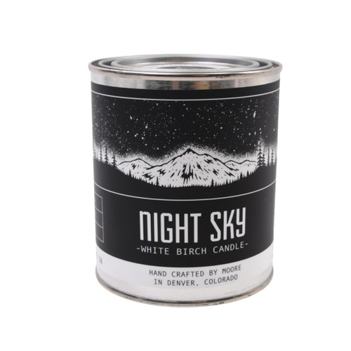 Night Sky Candle - Hand Crafted in the USA
