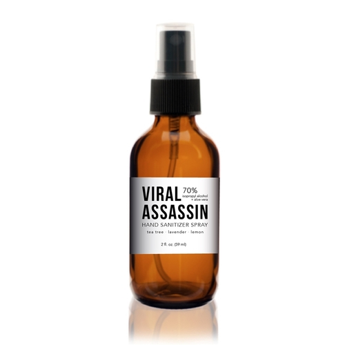 All Natural Hand Sanitizer Spray