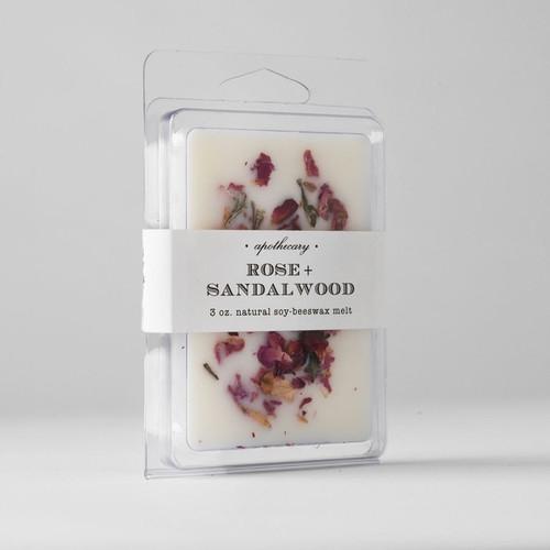 Rose Sandalwood Wax Melt