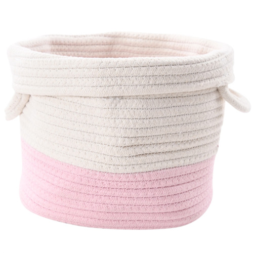 Make Your Own Gift Basket - Pink Rope Basket