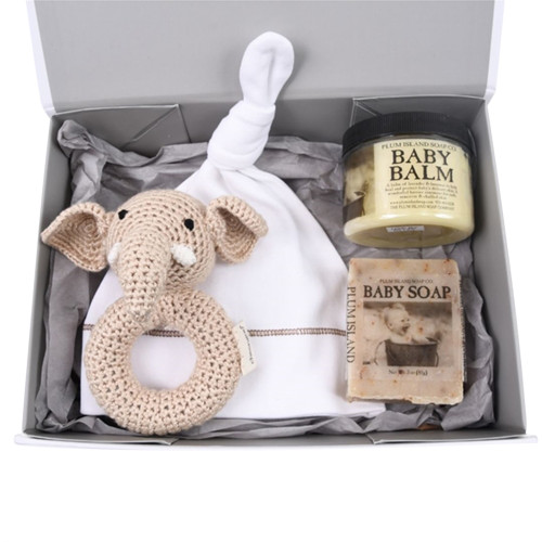 Organic Baby Gift Under $50 - Welcome - Natural
