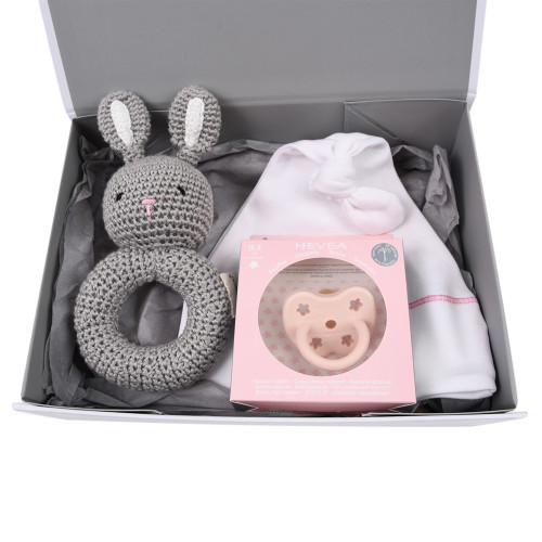 Organic Baby Gift Under $50 - Welcome - Pink