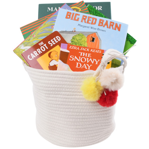 Baby Books Gift Basket - Classic Favorites