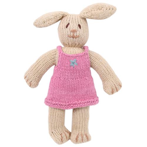 Organic Stuffed Bunny - Dahlia Rabbit