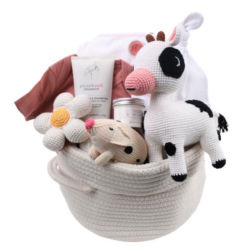 Organic Baby Gift Basket - Oopsy Daisy