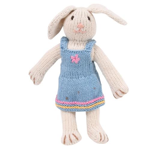 Organic Stuffed Bunny - Eleanor Rabbit