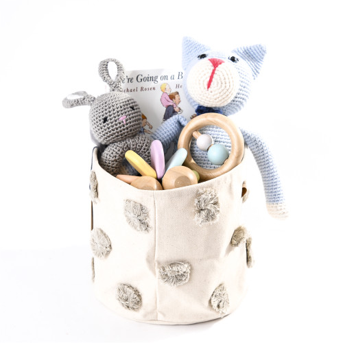 Baby Gift Basket that Gives Back - First Toys