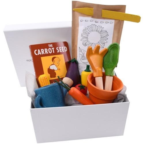 Three Year Old Birthday Gift Basket - My Little Gardener