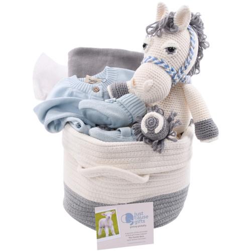 Baby Boy Gift Basket (or girl) - Happy Trails