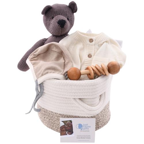 Organic Baby Gift Basket - Heirloom Layette