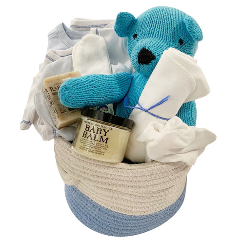 Baby Gift Baskets - Take Me Home - Blue