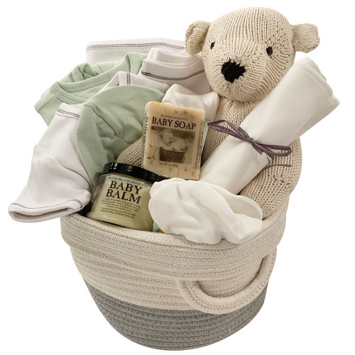 Baby Gift Baskets - Take Me Home - Green