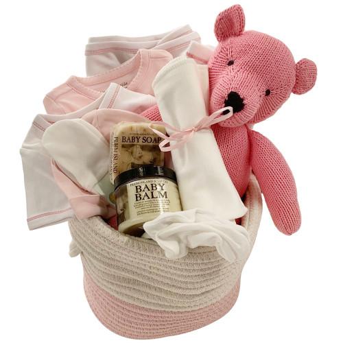 Baby Gift Baskets - Take Me Home - Pink