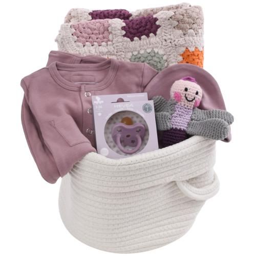Baby Girl Gift Basket - Little Lavender