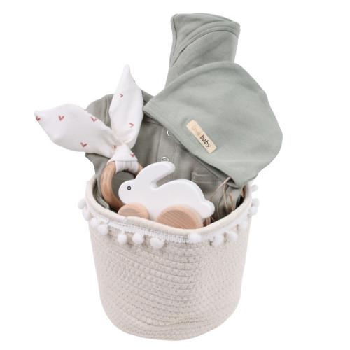 Cute Gender Neutral Baby Gift Basket - Loved