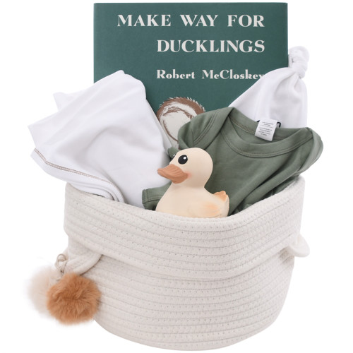 Cute Baby Gift Basket - Make Way for Baby