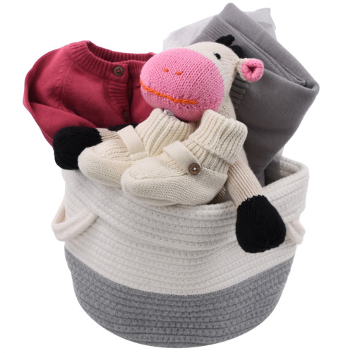 Upscale Baby Gift Basket - Over the Moon