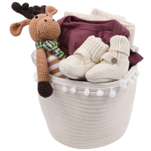 New Baby Gift Baskets - It Moose be Love