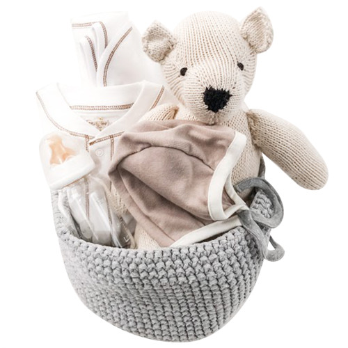 Luxury Baby Gift Basket - Pebbles