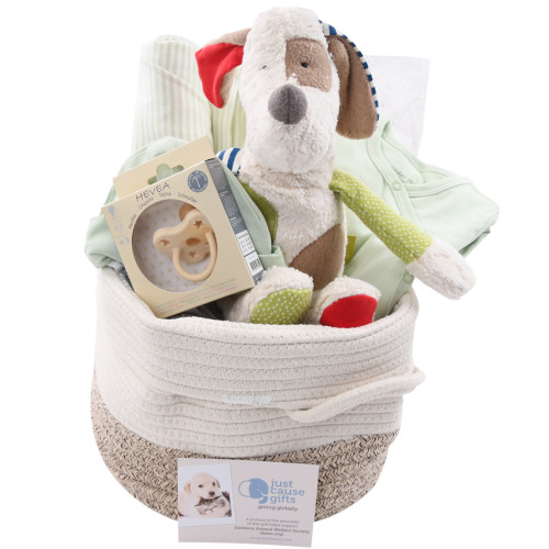 Organic Baby Gift Basket - Patches