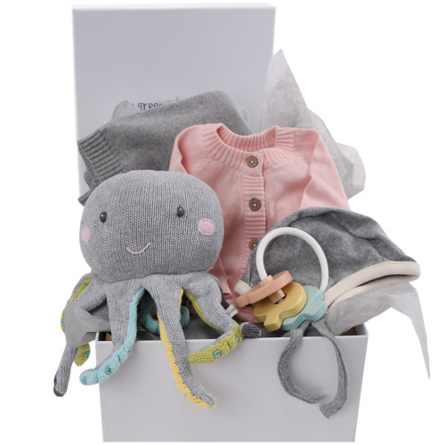 Ocean Themed Baby Gifts - Olivia Octopus