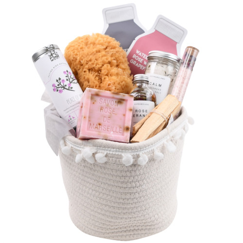 Natural Spa Gift Basket - Relax & Renew