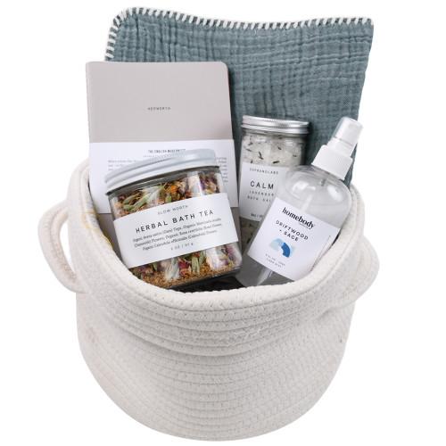 Natural Spa Gift Basket Self Care - Restore