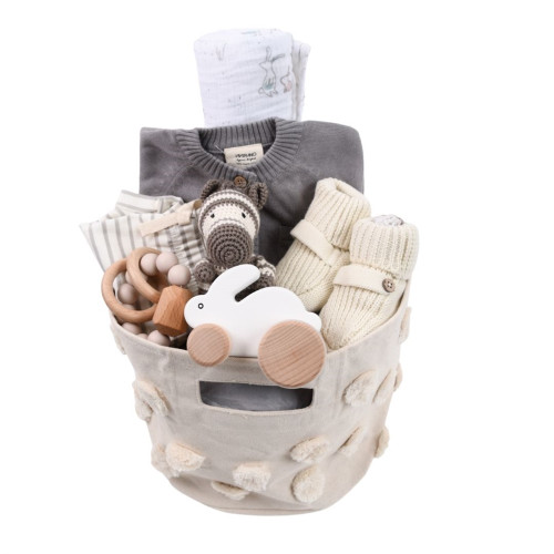 Gender Neutral Baby Gift Basket - Simply Perfect