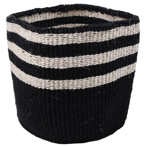 Make Your Own Gift Basket - African Sisal - Handmade - Stripe