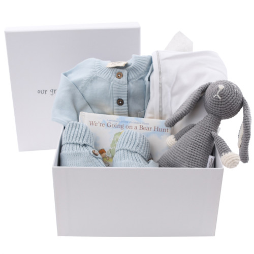 Organic Baby Boy Gift Box - So Excited