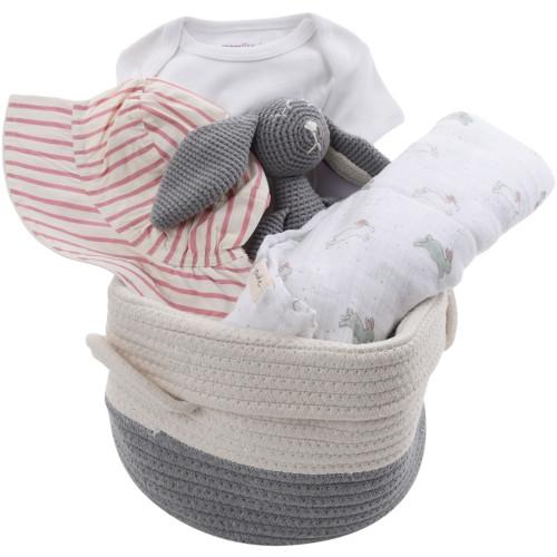 Baby Girl Gift Basket - Summer Garden