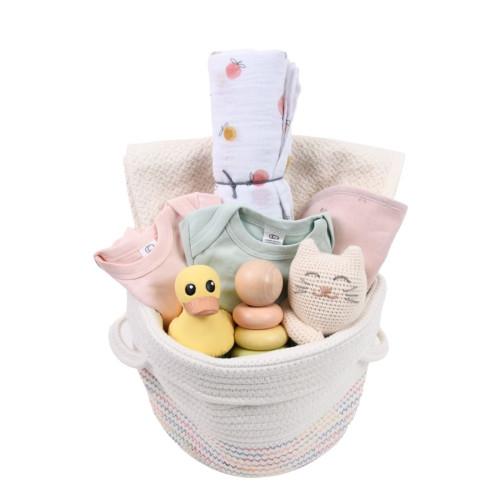 Cute Baby Girl Gift Basket (or boy) - Sweetheart
