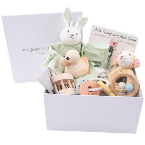 Eco-friendly Baby Toys Gift Basket - Amuse