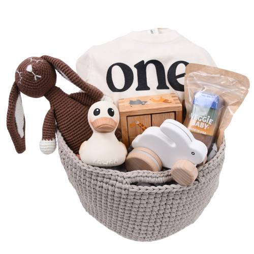 Gift Basket for One Year Old - One-derful