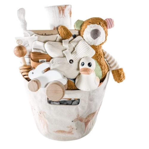 Client Baby Gift Basket Unisex Girl or Boy - Woodland Wonders