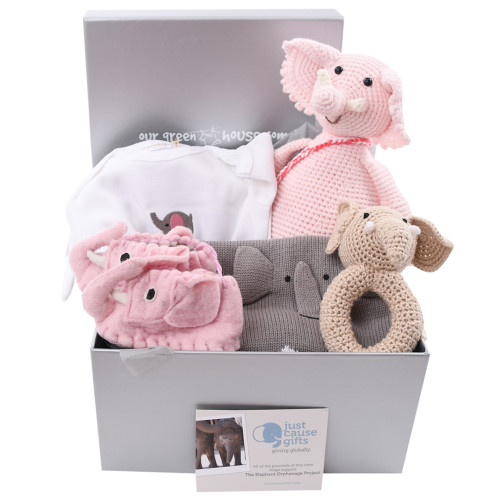 Save the Elephants - Deluxe Pink