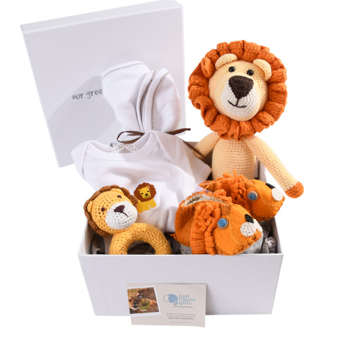 Save the Lions Baby Gift - Deluxe