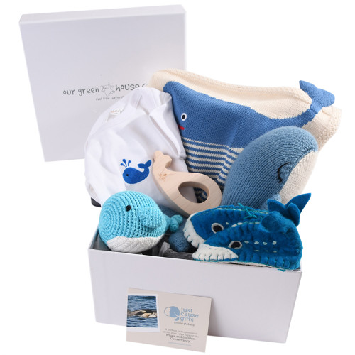 Save the Whales Baby Gift - Deluxe